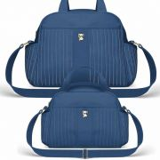 Kit Bolsa Maternidade Classic For Baby Grace Cor Azul