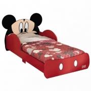 Mini Cama Mickey Pura Magia Cor Vermelho