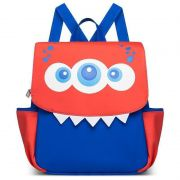 Mochila Infantil Monstro Classic for Bags Cor Azul