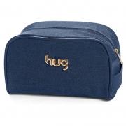 Necessaire Maternidade Jeans Hug Cor Azul Marinho