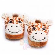 Pantufa Infantil Girafa Sonho de Luz Tamanho M