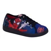 Tênis Infantil Homem Aranha Marvel Sugar Shoes Tamanho N°23