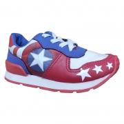 Tênis Infantil Masculino Vingadores Capitão América - N 31