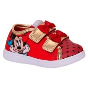 Tênis Infantil Velcro Minnie Diversão Sugar Shoes