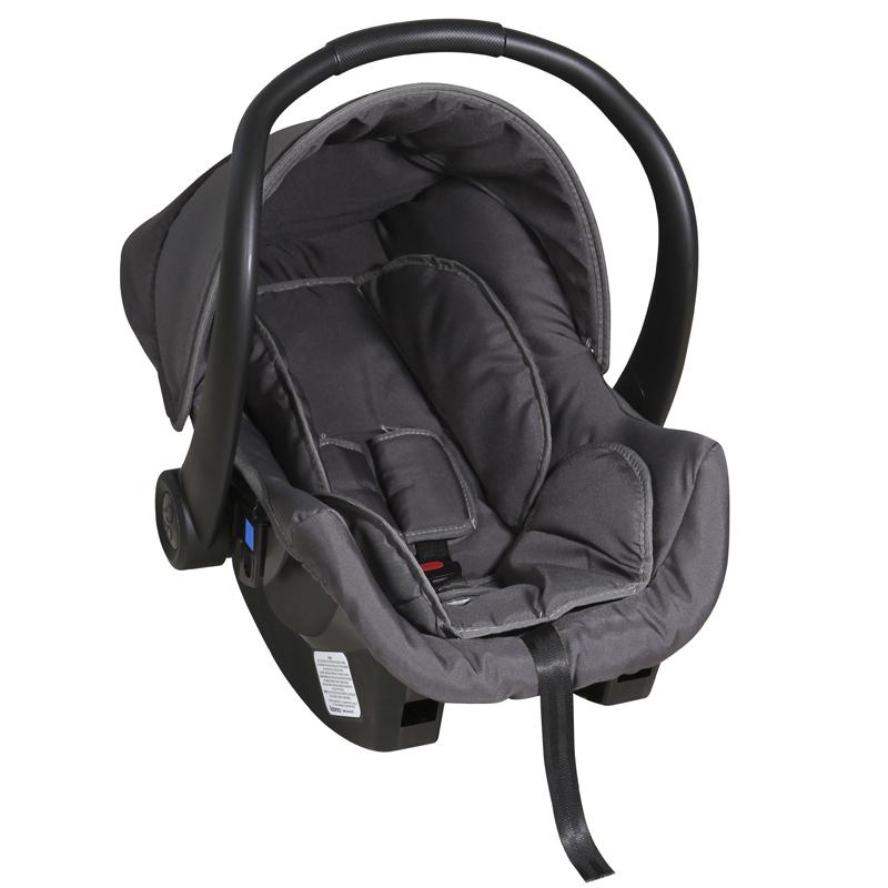 Bebê Conforto Cocoon Galzerano Cor Preto Cinza