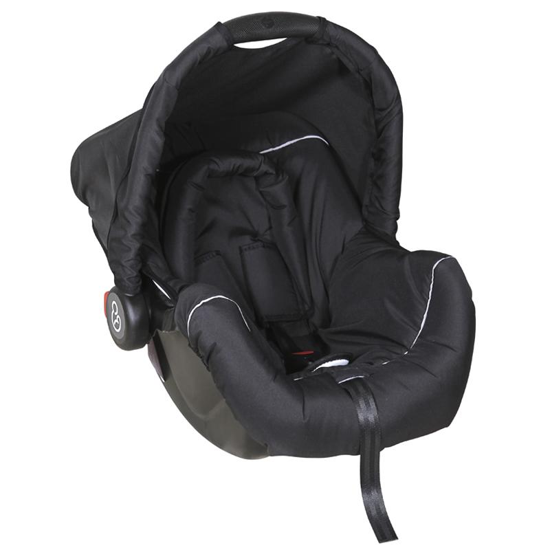 Bebê Conforto Piccolina Galzerano Cor Preto/preto E Cinza