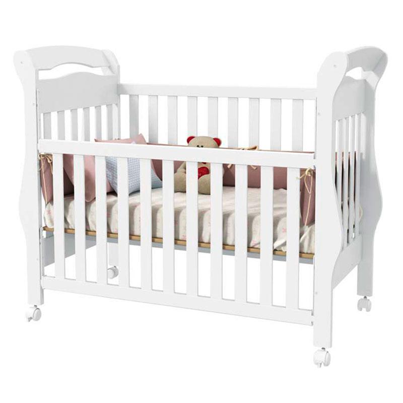 Quarto de Bebê Modulado Delicato 6 Portas Branco Brilho - Matic