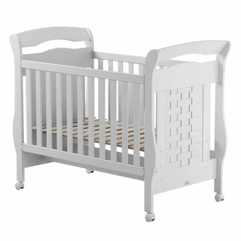 Quarto de Bebê Modulado Delicato 7 Portas Branco Brilho - Matic