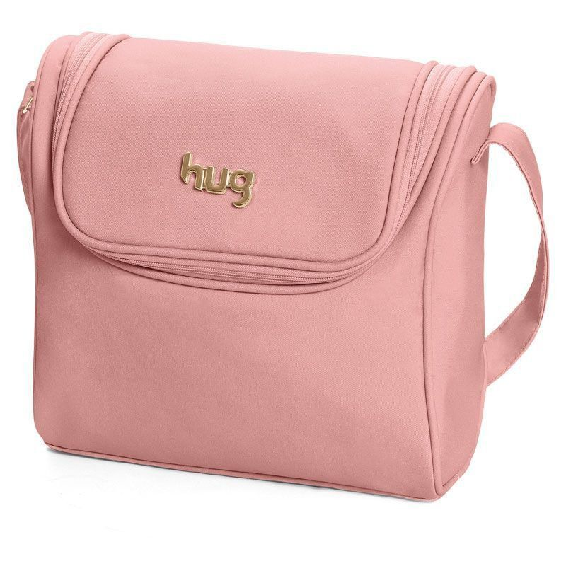 Bolsa Classic kit 2 Peças Hug Cor Rosa