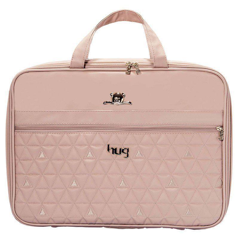 Bolsa Docinho Kit 2 Peças Hug Cor Bege