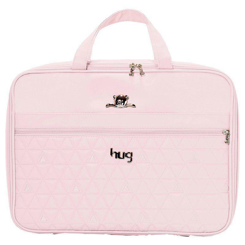 Bolsa Docinho Kit 2 Peças Hug Cor Rosa