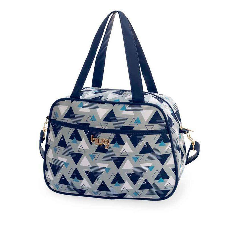 Bolsa Kit 2 Peças Maternidade Madri Hug Cor Azul Marinho