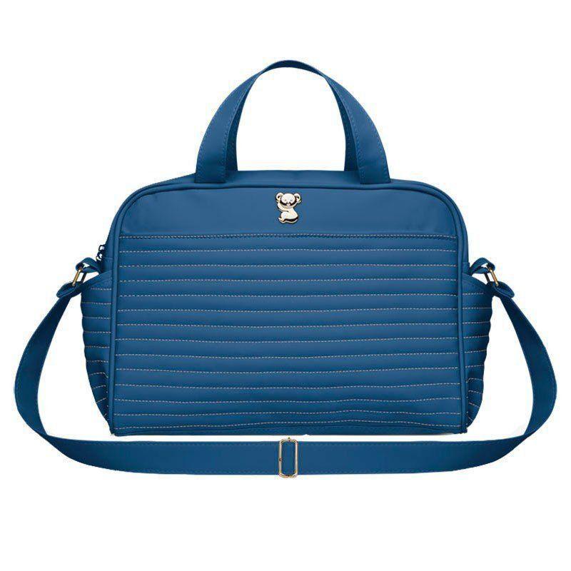 Bolsa Maternidade Califórnia Azul Marinho Classic for Bags Cor Azul