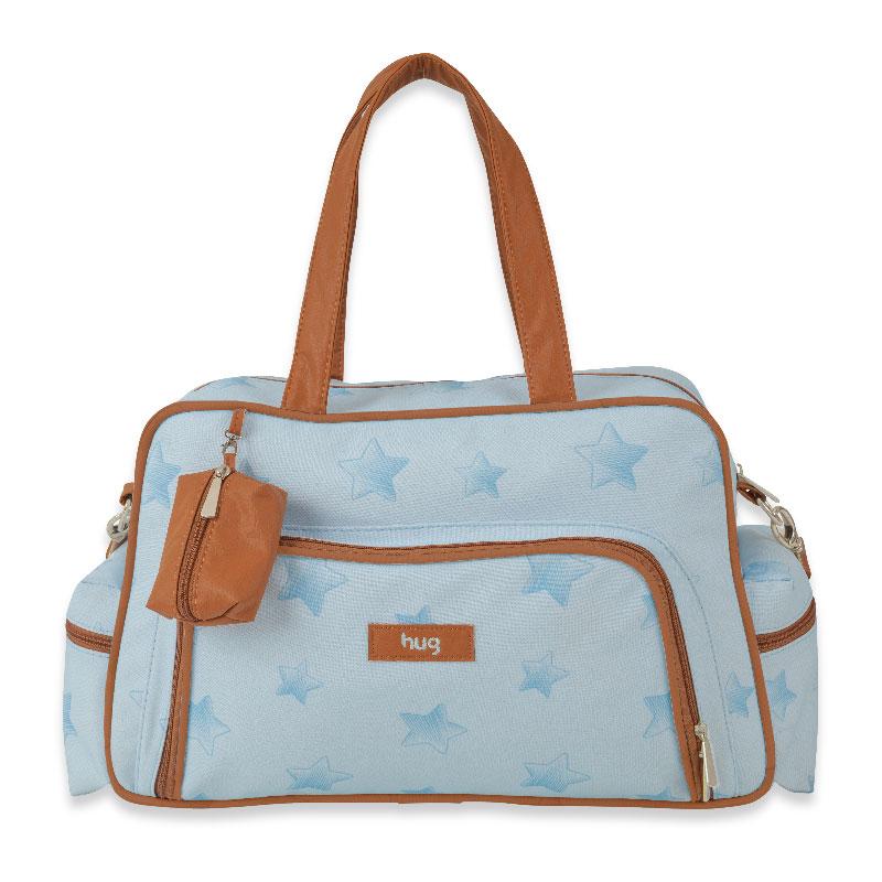 Bolsa Maternidade Céu Estrelado Hug Cor Azul