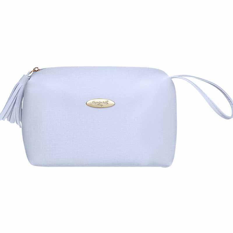 Bolsa Maternidade Classic for Baby Bags Necessaire Nacar Azul Cor Azul