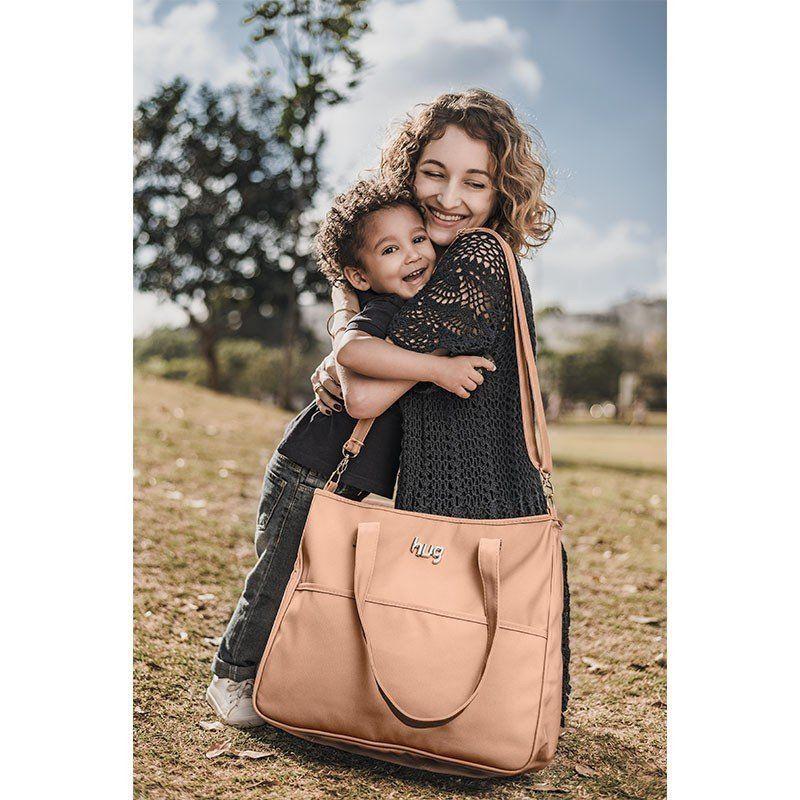 Bolsa Maternidade com Trocador Classic Hug Cor Bege