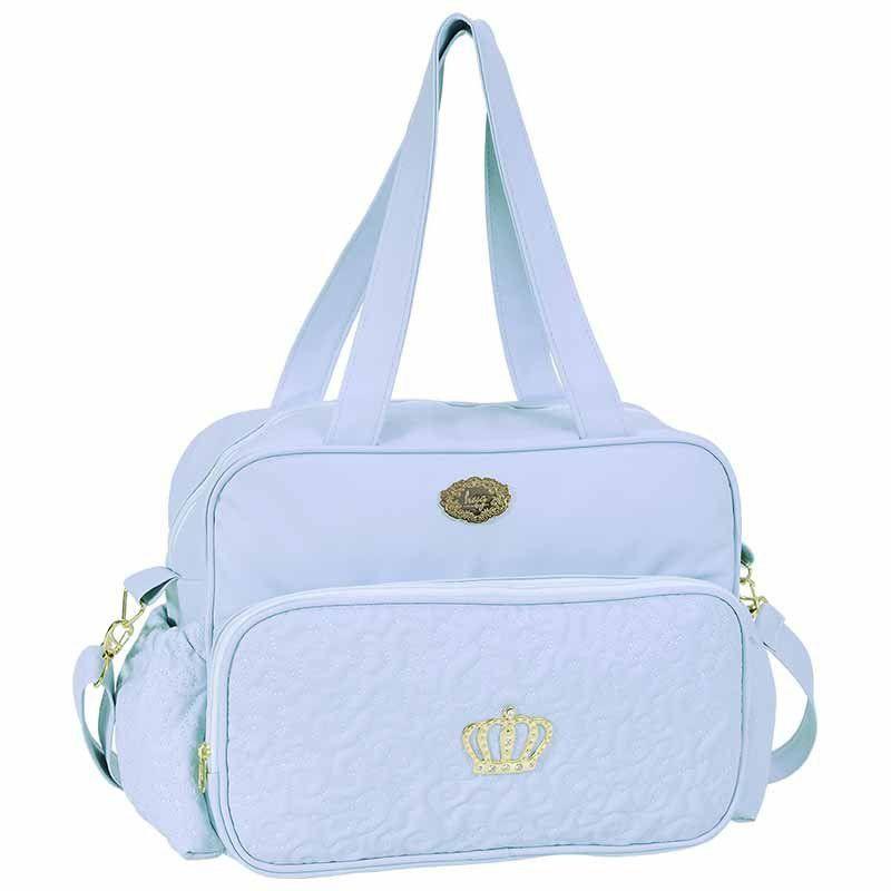 Bolsa Maternidade com Trocador Mimo Hug Cor Azul Bebe
