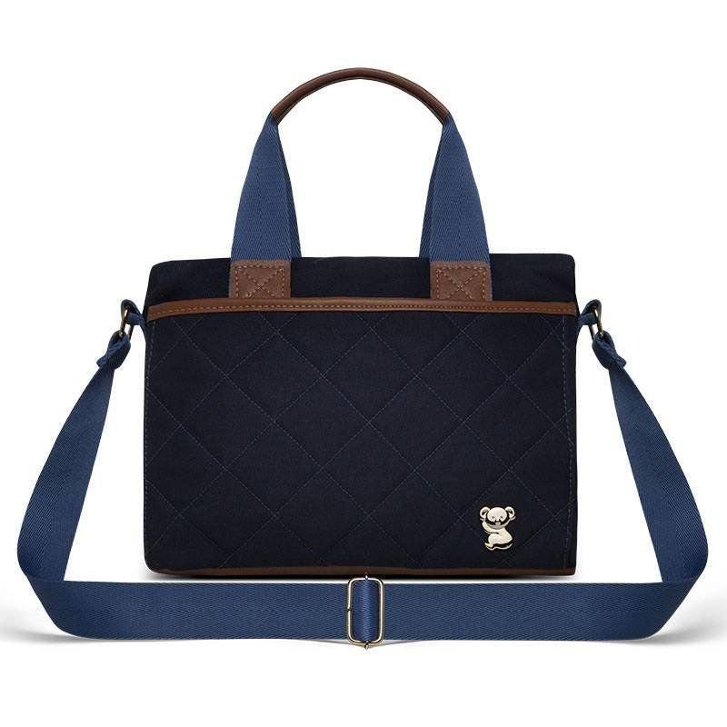 Bolsa Maternidade Heloísa Classic for Bags Cor Azul