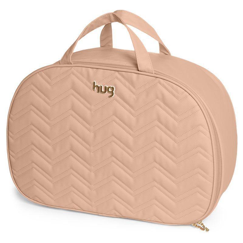Bolsa Maternidade Kit 2 Peças Chevron Hug Cor Bege