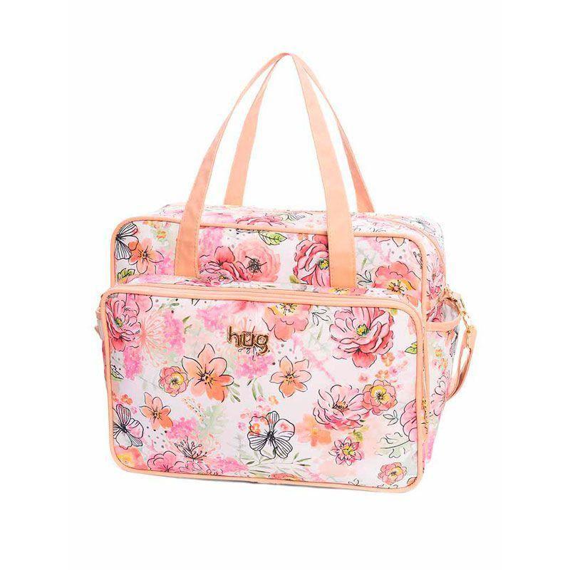 Bolsa Maternidade Kit 2 Peças Flora Floral Hug Cor Floral