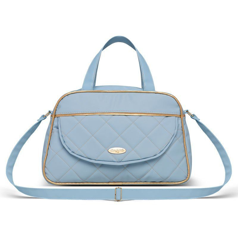 Bolsa Maternidade kit 2 peças Selena Classic for Bags Azul