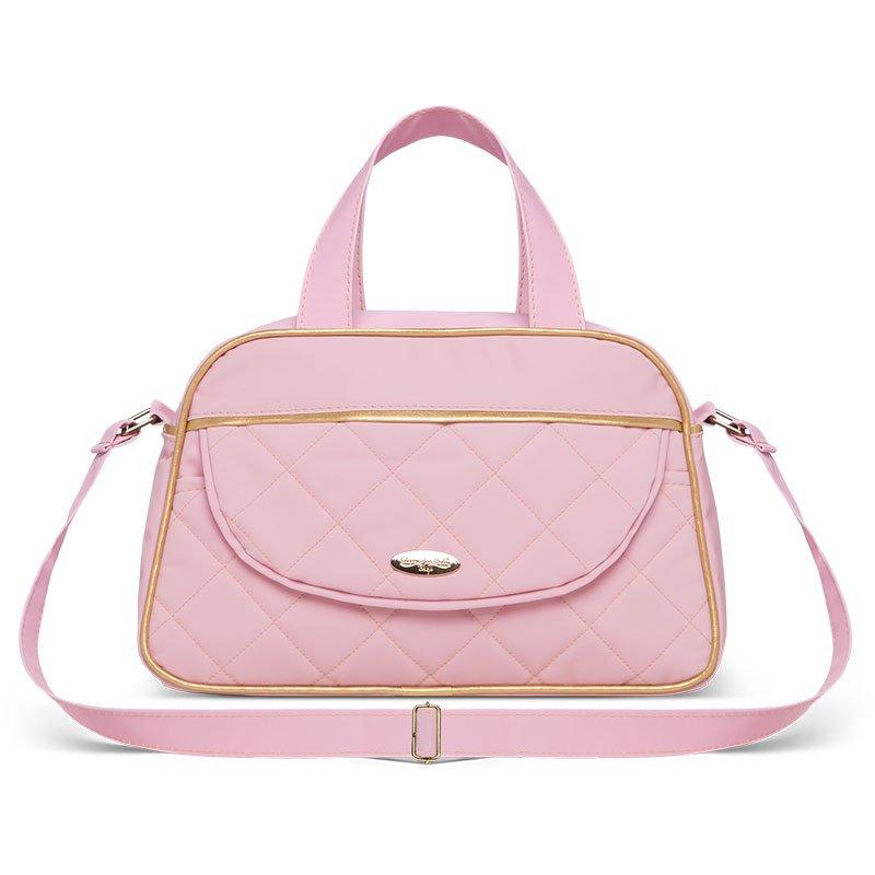 Bolsa Maternidade kit 2 Peças Selena Classic for Bags Rosa
