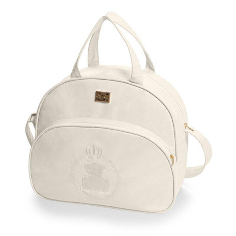 Bolsa Maternidade Kit 3 Peças Urso Imperial Hug Cor Bege