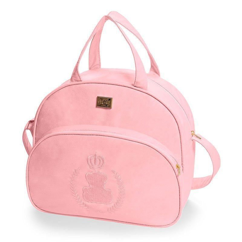 Bolsa Maternidade Urso Imperial Kit 2 Peças Hug Cor Rosa