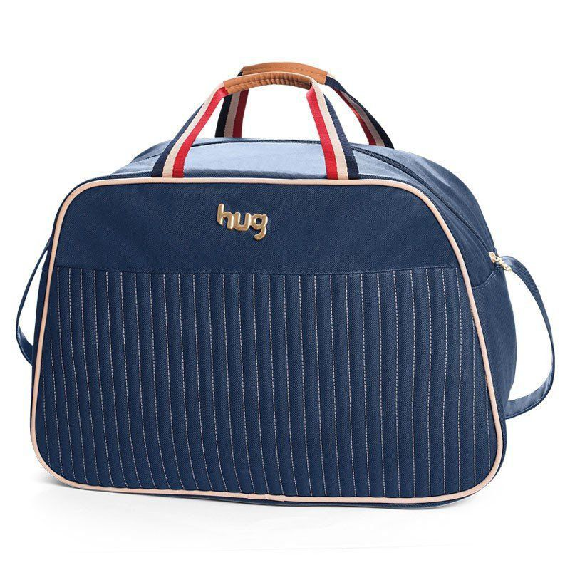 Bolsa Náutica Kit 3 Pecas Hug Cor Azul Marinho