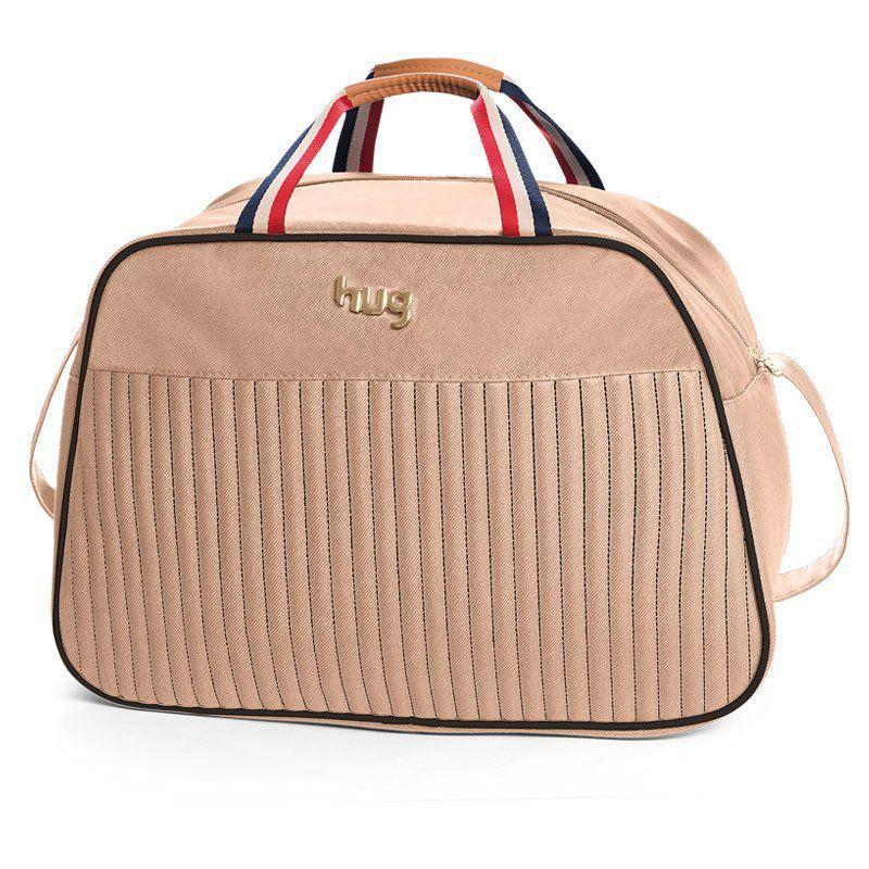 Bolsa Náutica Kit 3 Pecas Hug Cor Bege
