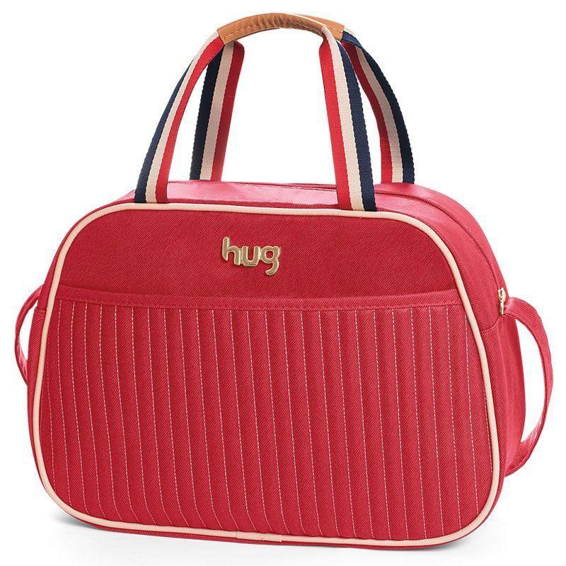 Bolsa Náutica Kit 3 Pecas Hug Cor Vermelho