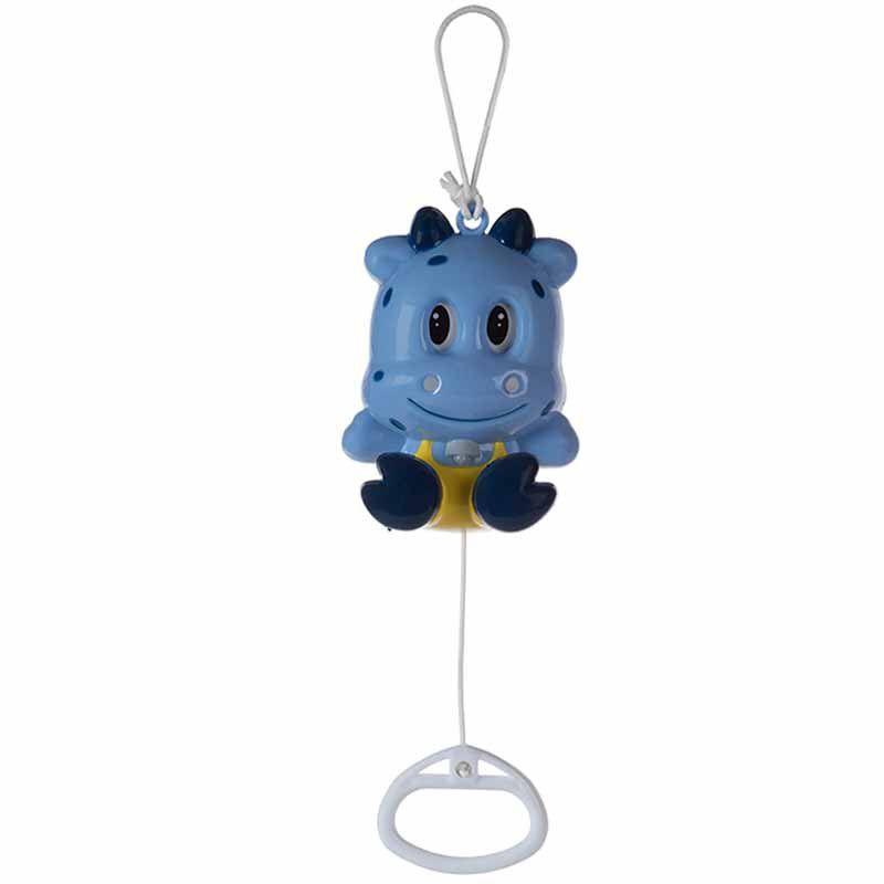 Brinquedo Musical Infantil Hipopótamo Azul Pimpolho 03 - 18 meses