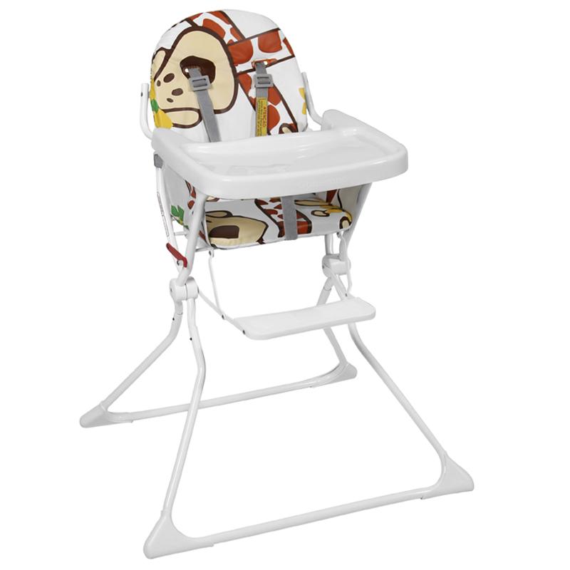 Cadeira De Alimentação Standard II Galzerano Estampa Girafas