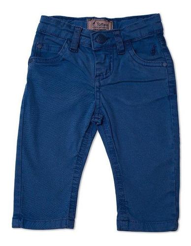 Calça Jeans Infantil Masculina Azul Royal Toffee - 0 a 3 meses
