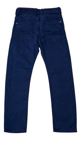 Calça Jeans Infantil Masculina Tofee Cor Azul Escuro - Nº01