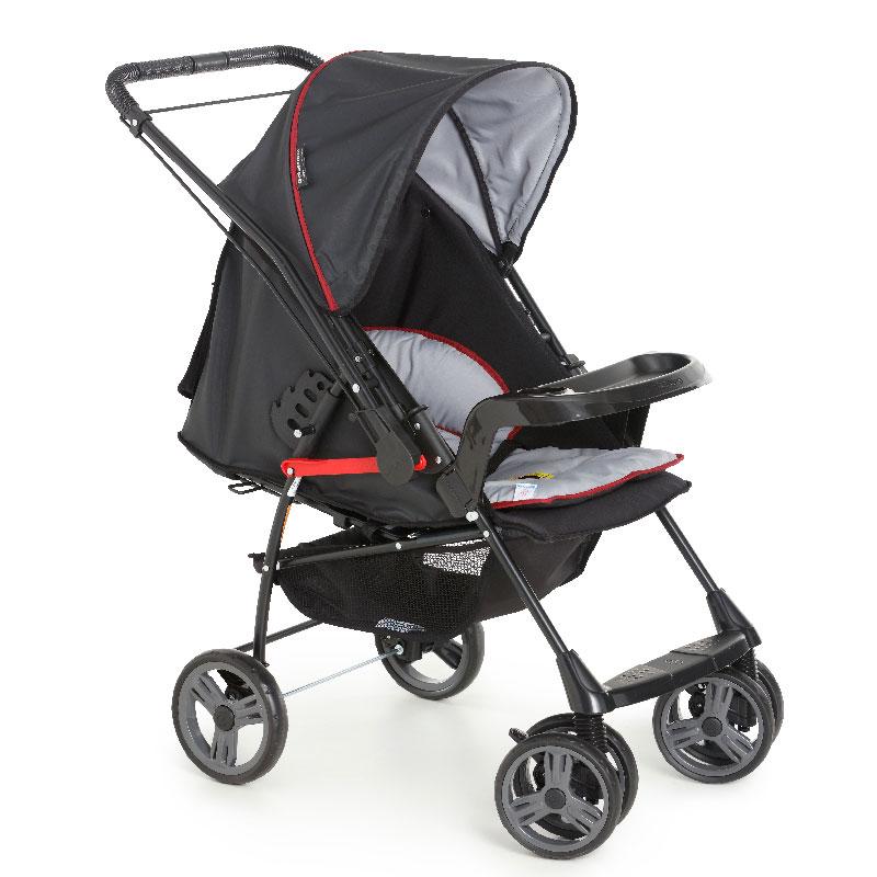 Carrinho de Bebê Milano Reversível II Galzerano Cor Preto