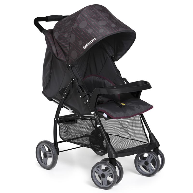 Carrinho de Bebê San Remo Galzerano Cor Preto