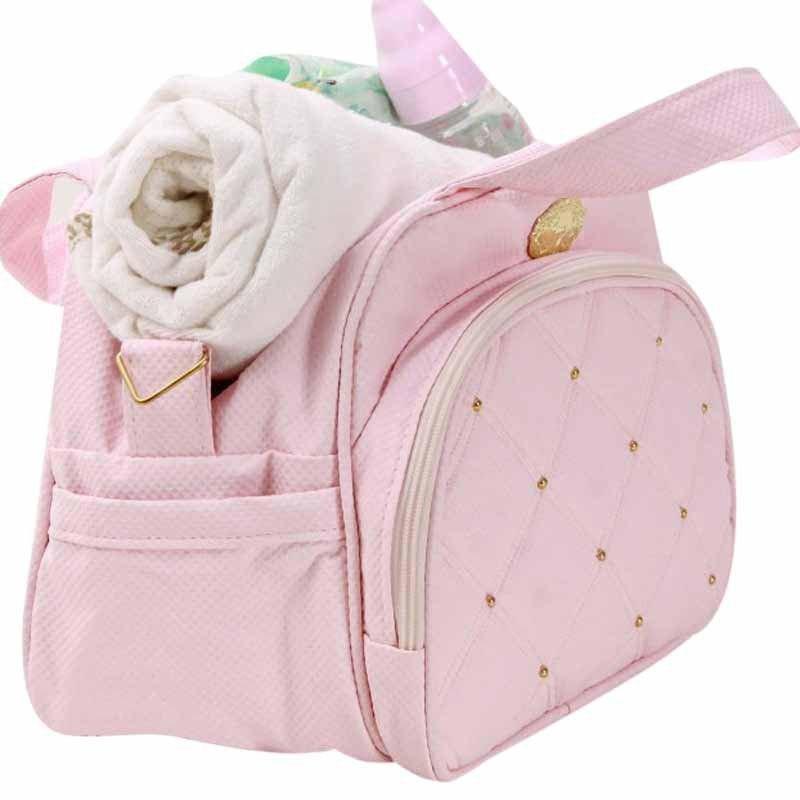 Frasqueira Maternidade Cherry Hug Cor Rosa