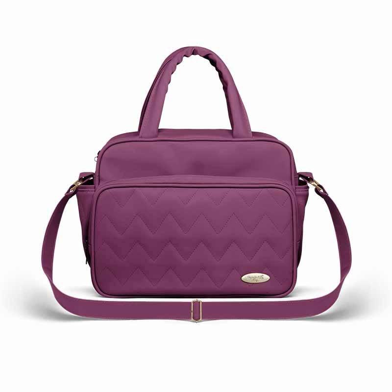 Frasqueira Maternidade Classic for Baby Bags Térmica Cor Uva