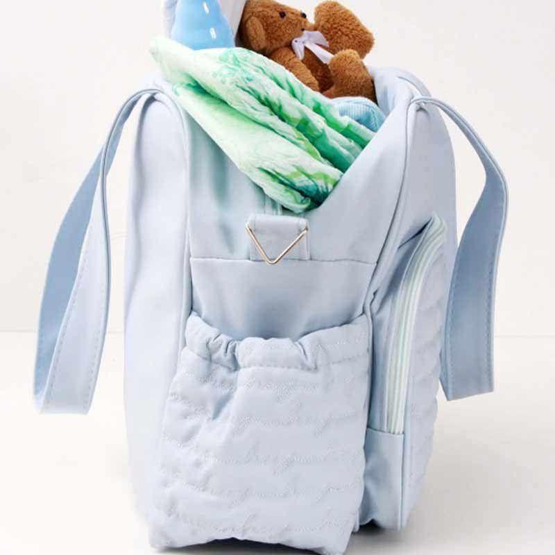 Frasqueira Maternidade Teddy Bear Hug Cor Azul Bebê