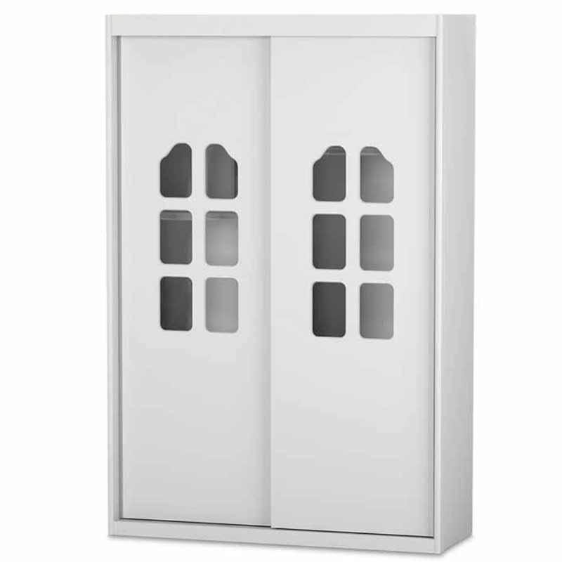 Guarda Roupa Amore New 2 Portas Deslizantes Matic Cor Branco