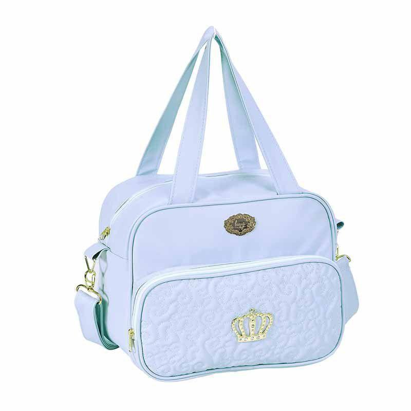 Kit 3 Bolsas Maternidade Mimo Hug Cor Azul Bebê