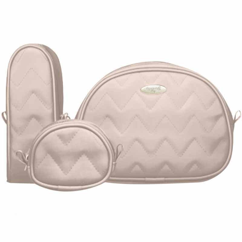 Kit Viagem Classic for Baby Bags Cor Caqui