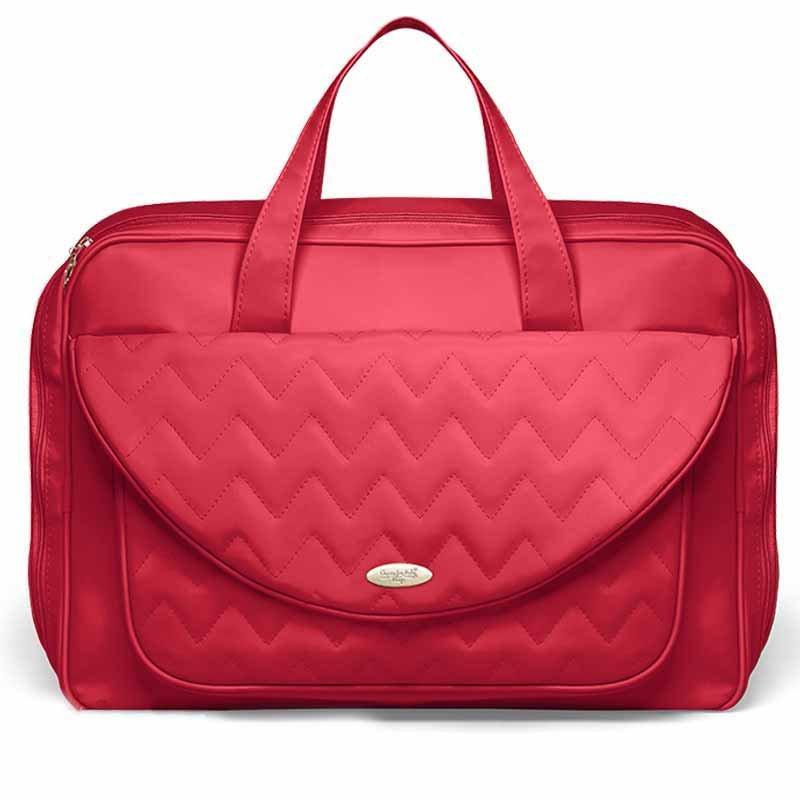 Mala Maternidade Missione Cereja Classic for Bags Cor Cereja