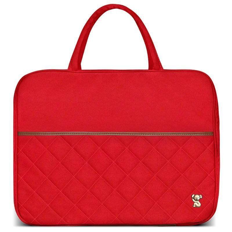 Mala Maternidade Viagem Casual Laranja Classic for Bags Cor Cenoura
