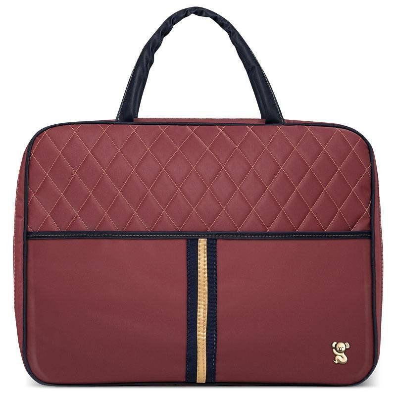 Mala Maternidade Viagem Natus Bordo Classic for Bags Cor Bordo