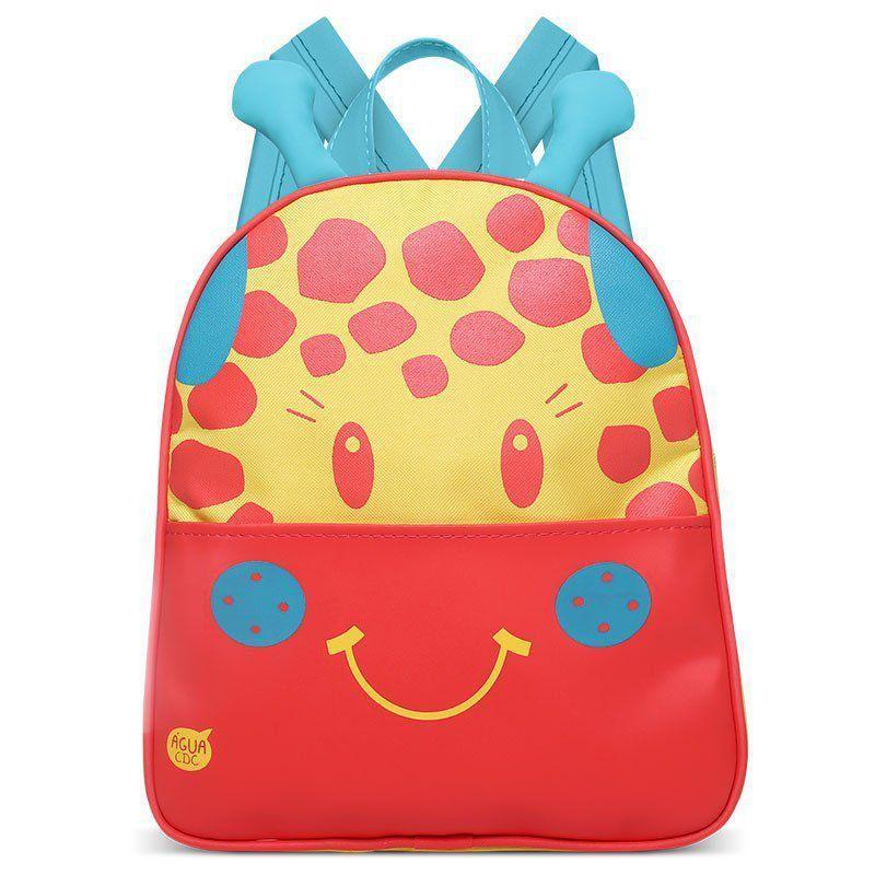 Mochila Infantil Girafinha Classic for Bags Cor Amarelo
