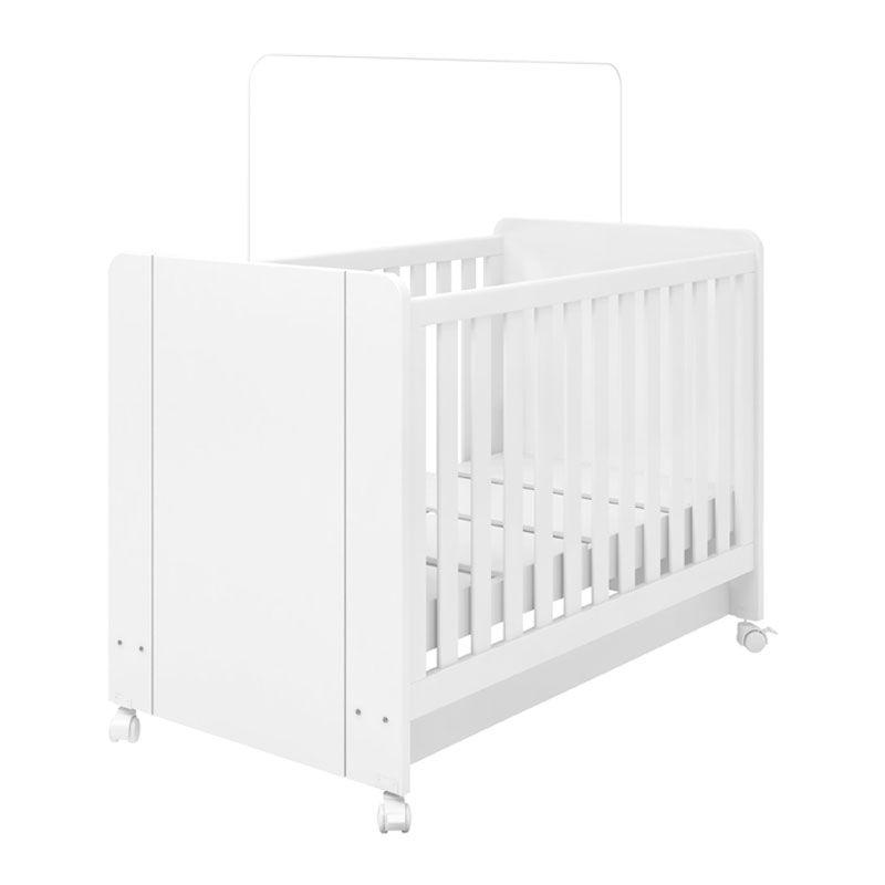 Quarto de Bebê Angel Fiorello Cor Branco Acetinado