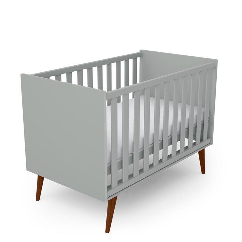 Quarto de Bebê Colore Fiorello Cor Cinza