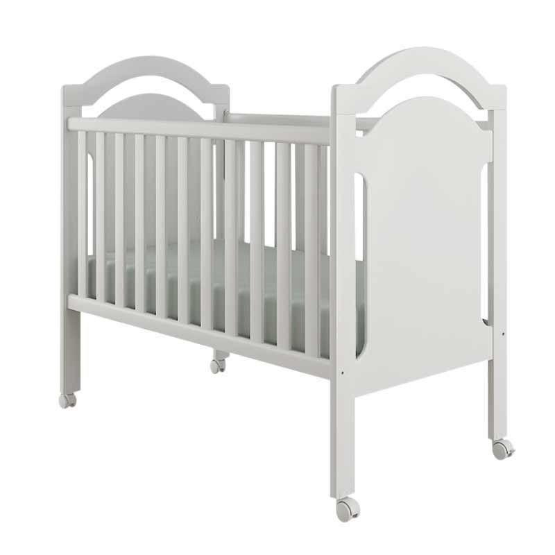 Quarto de Bebê Completo Arco Iris 4 Portas Canaã Cor Branco Brilho